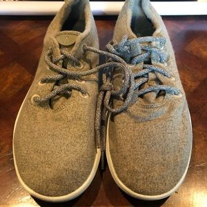 Allbirds men's wool runners sz 10 tan